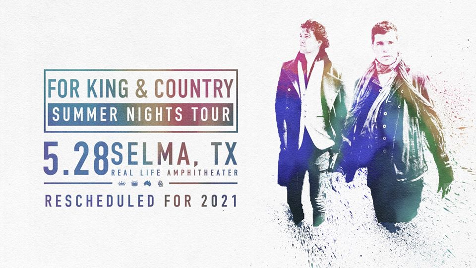 for King & Country Concert - May 28, 2021 2