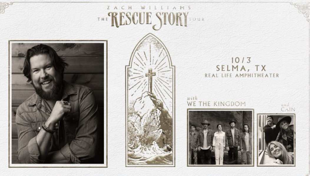 Zach Williams- The Rescue Story Tour 2