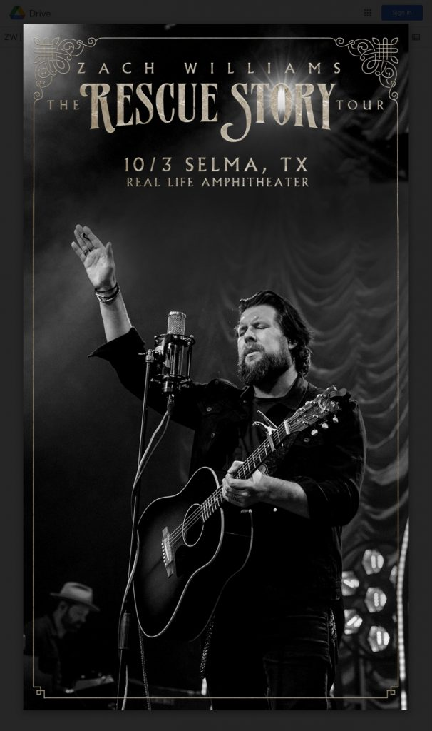 Zach Williams- The Rescue Story Tour 6
